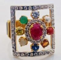 Navratan Gold Ring